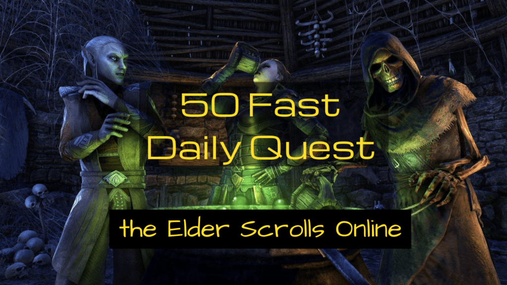 List of Daily Quests in ESO